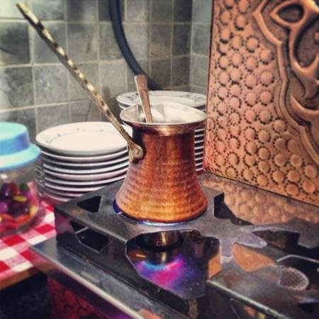Seyru Sefa Cafe RESTAURANT :                   Caffè alla turca