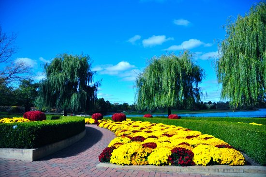 Fall at the garden picture of chicago botanic garden glencoe tripadvisor for Chicago botanic garden membership