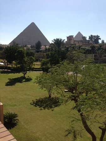 Mena House Hotel:                   view from my room