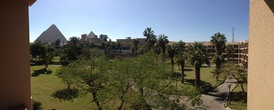 Mena House Hotel:                   room view