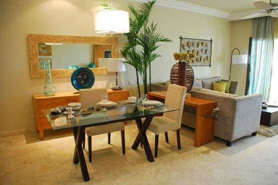 Fishing Lodge Cap Cana: One Bedroom Living Room