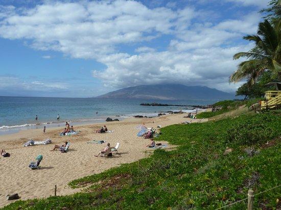 كاسل كامويل ساندز إيه كونومينيوم ريزورت: Beach 2 min. walking from Castle Kamaole Sands