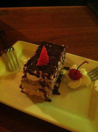 Girardi's Osteria: A slice of tiramisu