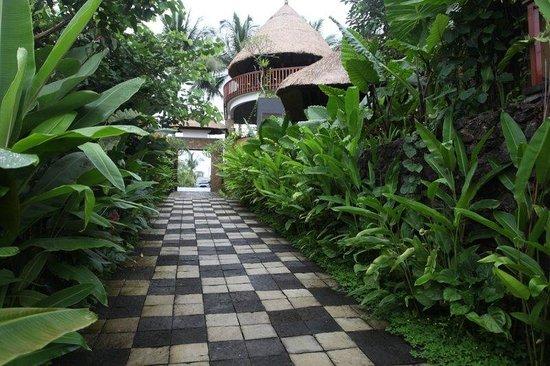 Ubud Green: Walkway