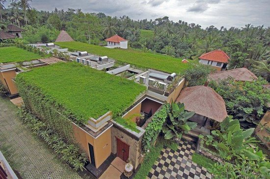 Ubud Green: roof garden