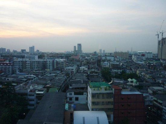Asia Hotel Bangkok: Room view