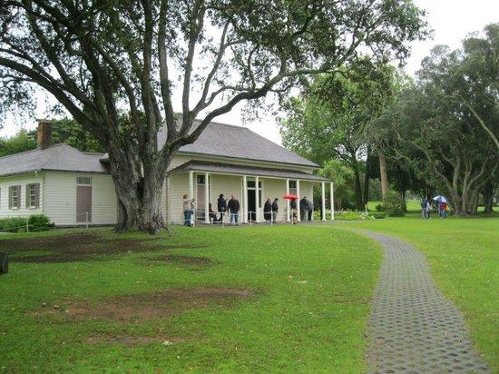 Waitangi Treaty Grounds: The Treaty House