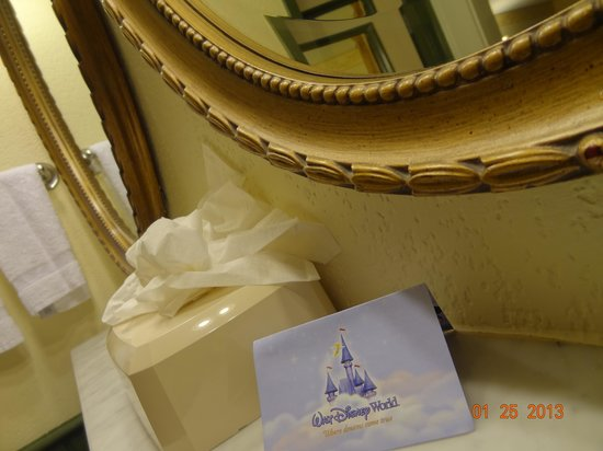 Disney's Port Orleans Resort - French Quarter:                   A clean bath area is inviting