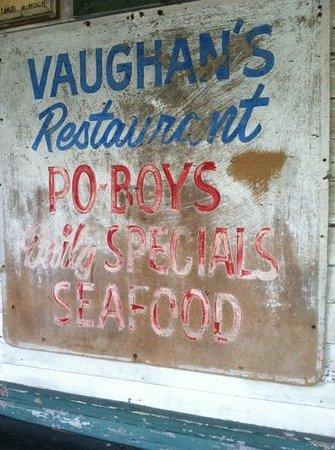 Vaughan's Lounge:                   Vaughan's