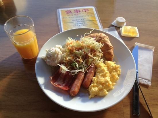 โรงแรมชินจูกุ วอชิงตัน:                   still the great breakfast to kick start