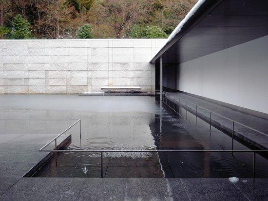 D. T. Suzuki Museum :                   水鏡の庭