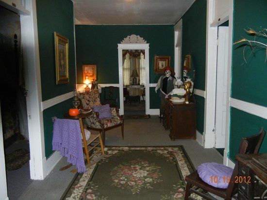 Thomas House:                   hall with activity