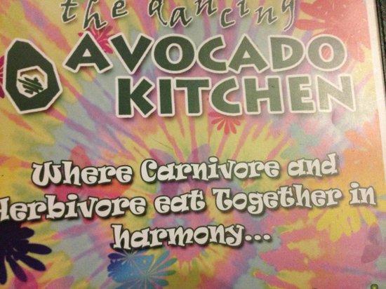 Dancing Avocado Kitchen:                   Outside
