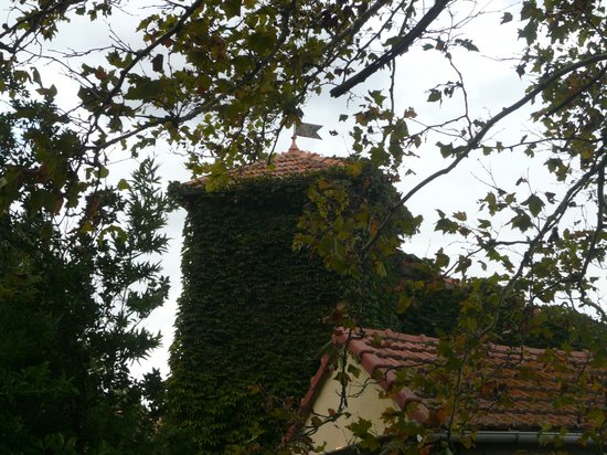 Mas D'Arvieux: tower of Pigeonnier cottage