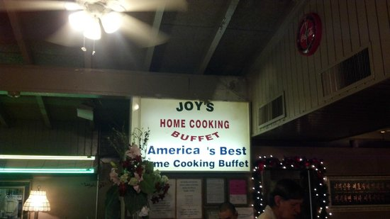 Joy's Home Cooking:                                     joy to be eating here
