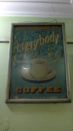 Indian Coffee House  - cool old advertisement