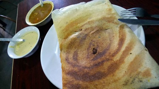 Indian Coffee House: Masala dosa