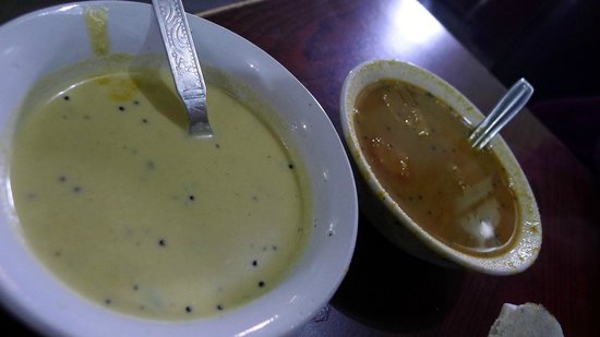 Indian Coffee House: dasa sauce