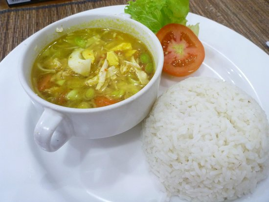 Abian Srama Hotel and Spa:                   breakfast -soto ayam-