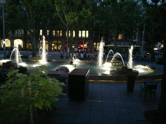 Hampshire Hotel - Amsterdam American: hotel fountain