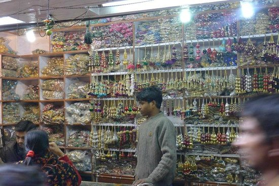 Scenes From Chandni Chowk In Old Delhi Market Shop