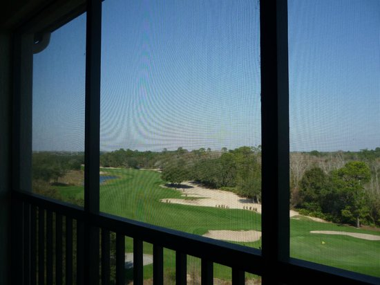 Holiday Inn Club Vacations At Orange Lake Resort:                   balcony view
