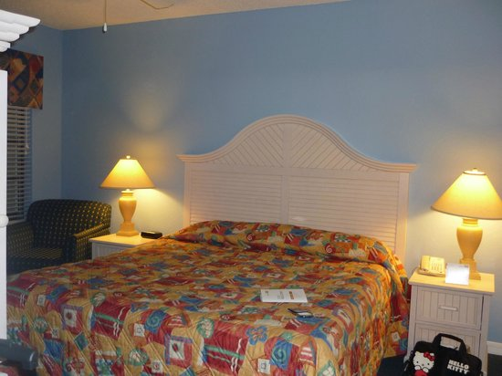 Holiday Inn Club Vacations At Orange Lake Resort:                   bed