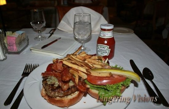 Washington Court Hotel on Capitol Hill: Cheapest thing on the menu; too much to finish!
