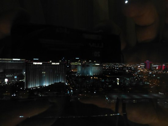Trump International Hotel Las Vegas:                   View from Strip View room (no strip)