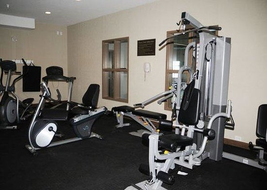Comfort Inn & Suites Fort Saskatchewan: Excercise Room