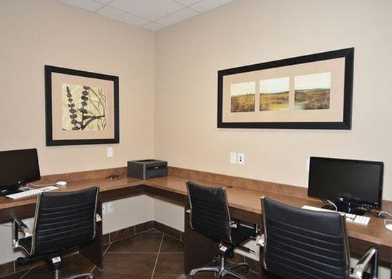 Comfort Inn & Suites Fort Saskatchewan: BUSINESSROOM