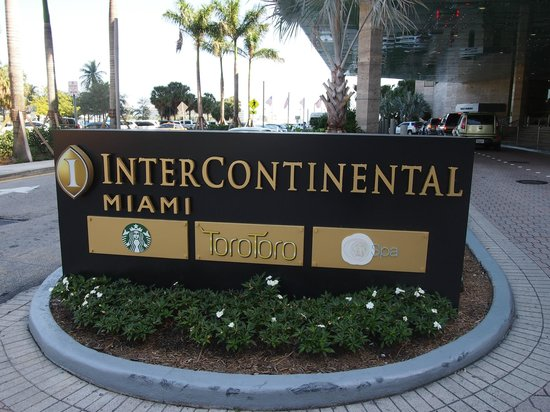 InterContinental Miami:                   入口