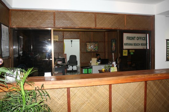 Nirvana Beach Resort: Check Inn Counter & Office