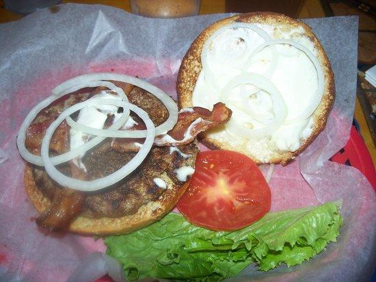 The Grubsteak Restaurant :                   burger