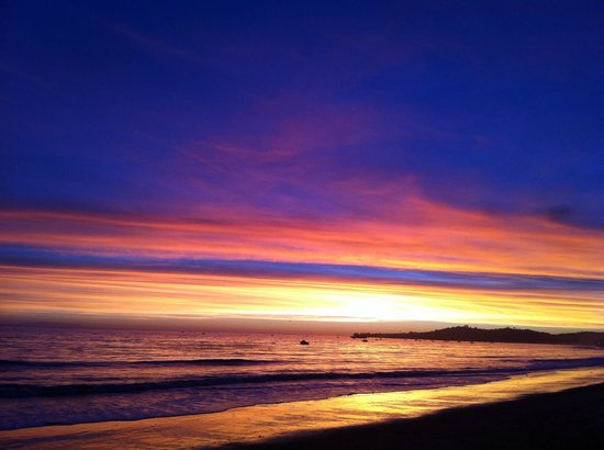 Four Seasons Resort The Biltmore Santa Barbara : Awesome sunset from the beach
