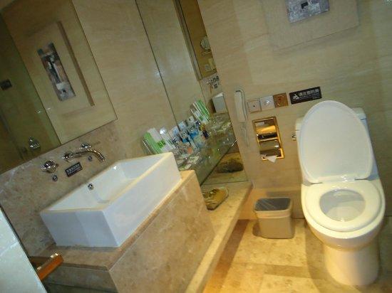 Gandian Hotel:                   bathroom