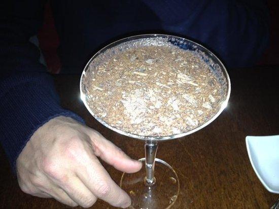 Ayza Wine & Chocolate Bar :                   Chocolate Martiini