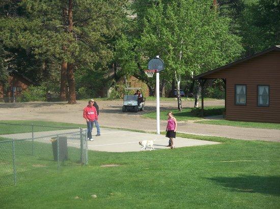 Glacier Lodge:                   basketball court