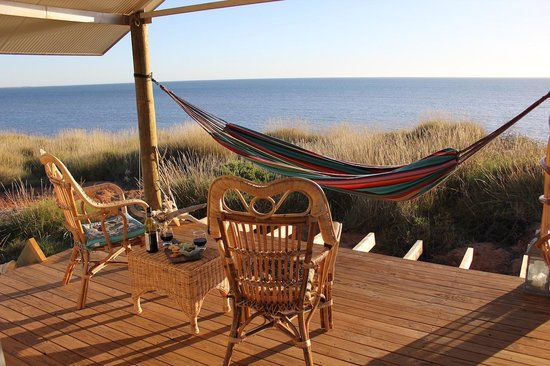 Wilderness Island Safari Holidays: The view for the beach front cabins