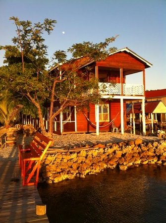 Rubi's Inn:                   Rubis from the dock