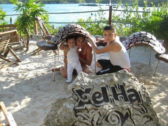 Riviera Maya, Mexico: que super area de niños en xelha