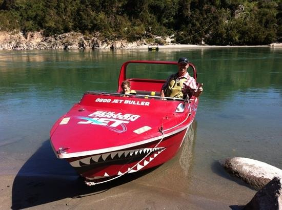 Buller Canyon Jet:                   Cheers dude and mini dude...