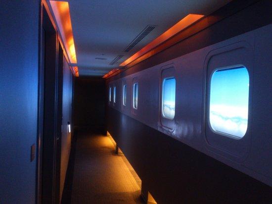 Airline Inn Taipei Zhong Hua:                   Hotel Corridor
