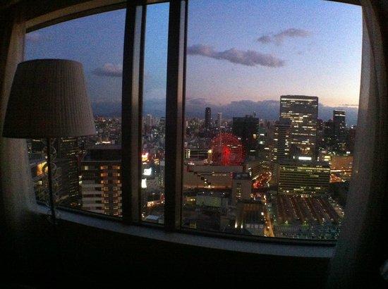 Hotel Hankyu International: View of Hep 5 building from room
