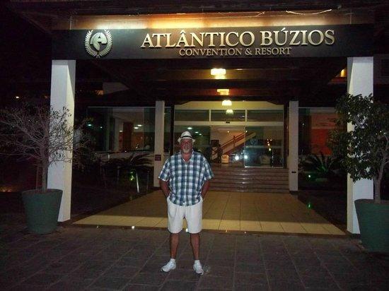 Atlantico Buzios Hotel:                                     Entrada principal