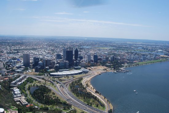 HeliWest Day Tours Perth:                   Perth from Kings Park