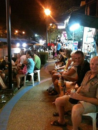 Phra Nang Inn:                   Mr Cock's street bar, great fun!