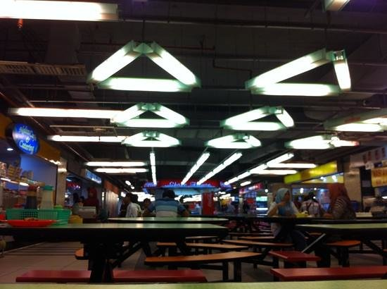 Centre Point Basement Food Court: A scene in mid morning
