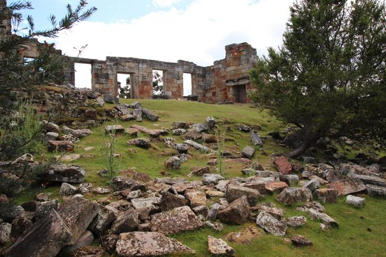 Coal mines historic site ruins