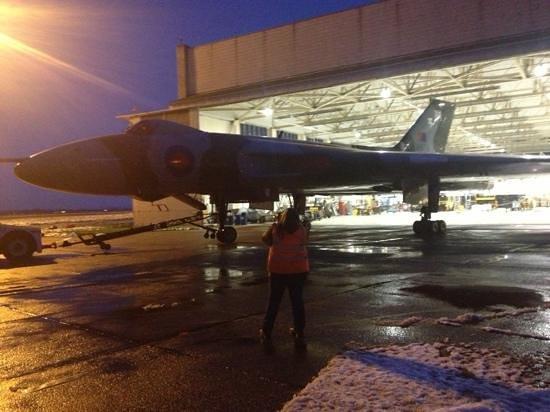 Ramada Encore Doncaster Airport:                                     vulcan bomber is next door to hotel practically